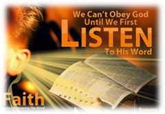 Listen to the Word