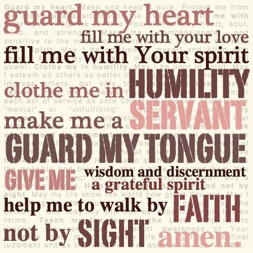 Guard My Heart
