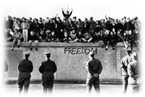 Freedom from Berlin wall